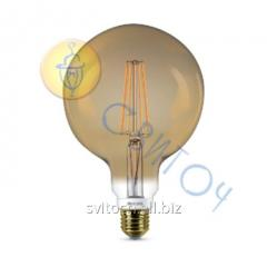 Светодиодная лампа Philips LEDClassic 7-60W G120 E27 2000K GOLD APR (929001229108)