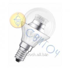 Светодиодная лампа OSRAM SCLP40 6W/827220-240VCSE14 (4052899911963)