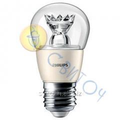 Светодиодная лампа Philips MAS LEDluster DT 6-40W E27 827 P48 CL шар (929001140702)