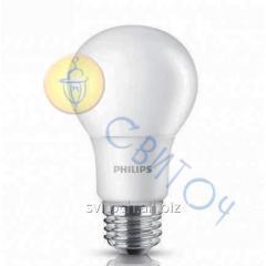 Светодиодная лампа Philips LEDBulb 6-50W E27 3000K 230V A60 /PF (929001162007)