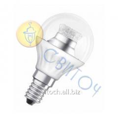 Светодиодная лампа OSRAM SUPERSTAR P40 E14 6,5W 2700K, диммируемая, прозрачная (4052899904439)