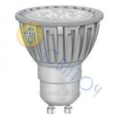 Светодиодная лампа OSRAM STAR PAR16 50 5.5W GU10, угол 36C, теплый белый (10355) (4052899910355)