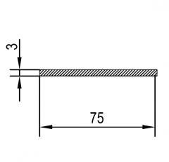 Алюминиевая полоса/шина АН15 2х20