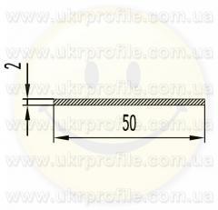 Алюминиевая полоса/шина АН15 2х30