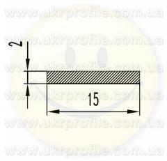 Алюминиевая полоса/шина АН15 2х40