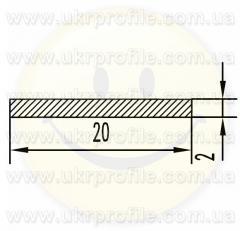 Алюминиевая полоса/шина АН15 3х40