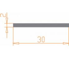 Алюминиевая полоса/шина Б.П. 6х25