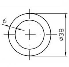 Труба круглая АН15 100х2,5