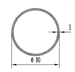 Труба круглая АН15 16х3