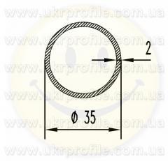 Труба круглая АН15 16х3,5
