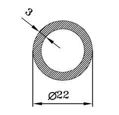 Труба круглая АН15 18х3