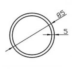Труба круглая АН15 20х3,5