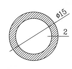 Труба круглая АН15 26х3