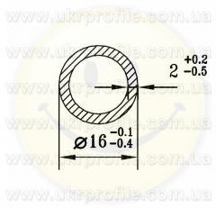 Труба круглая АН15 30х1