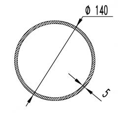 Труба круглая АН15 32х1