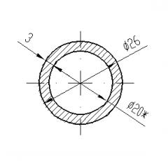 Труба круглая АН15 32х2