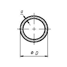 Труба круглая Б.П. 12х2,5