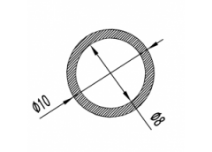 Труба круглая Б.П. 14х1