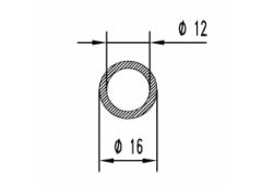 Труба круглая Б.П. 16х1,5