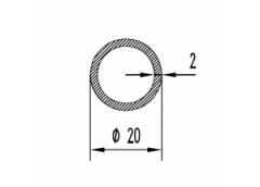 Труба круглая Б.П. 16х2