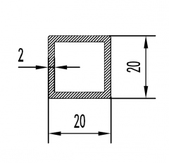 Труба круглая Б.П. 20х3,5