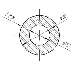 Труба круглая Б.П. 22х2
