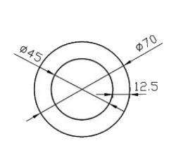 Труба круглая Б.П. 25х2