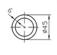 Труба круглая Б.П. 30х1