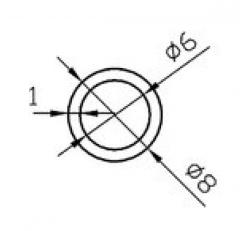 Труба круглая Б.П. 30х3