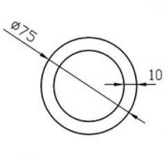 Труба круглая Б.П. 40х3