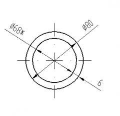 Труба круглая Б.П. 45х2