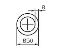 Труба круглая Б.П. 50х2,5