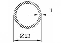 Труба круглая Б.П. 70х13