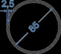 Труба круглая Б.П. 8х1,5
