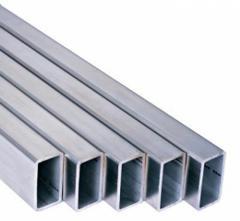 Труба алюминиевая квадратная, профильная АД31Т5 АН15 10х10х1