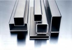 Труба алюминиевая квадратная, профильная АД31Т5 АН15 10х20х1,5