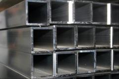 Труба алюминиевая квадратная, профильная АД31Т5 АН15 20х20х2