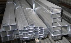 Труба алюминиевая квадратная, профильная АД31Т5 АН15 20х30х1,5