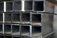Труба алюминиевая квадратная, профильная АД31Т5 АН15 20х40х2