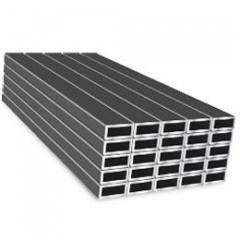 Труба алюминиевая квадратная, профильная АД31Т5 АН15 26х3
