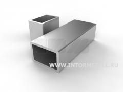 Труба алюминиевая квадратная, профильная АД31Т5 АН15 28х4