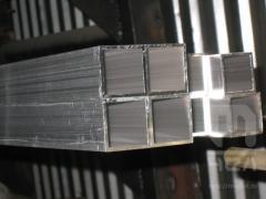Труба алюминиевая квадратная, профильная АД31Т5 АН15 30х1,5