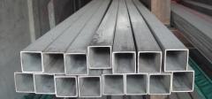 Труба алюминиевая квадратная, профильная АД31Т5 АН15 30х3