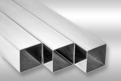 Труба алюминиевая квадратная, профильная АД31Т5 АН15 30х60х2
