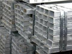 Труба алюминиевая квадратная, профильная АД31Т5 АН15 32х1