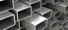 Труба алюминиевая квадратная, профильная АД31Т5 АН15 35х1