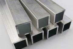 Труба алюминиевая квадратная, профильная АД31Т5 АН15 40х3