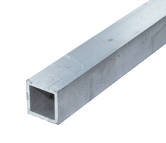 Труба алюминиевая квадратная, профильная АД31Т5 АН15 40х60х3,5