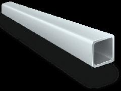 Труба алюминиевая квадратная, профильная АД31Т5 АН15 50х50х3