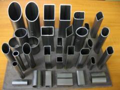 Труба алюминиевая квадратная, профильная АД31Т5 АН15 50х8